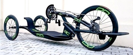 Carbon-Handbike Blade-Kooma