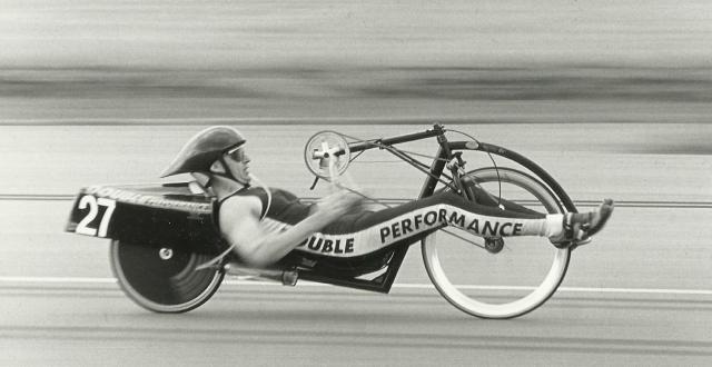 M5 twowheeled Handcycle, Kees Van Breukelen