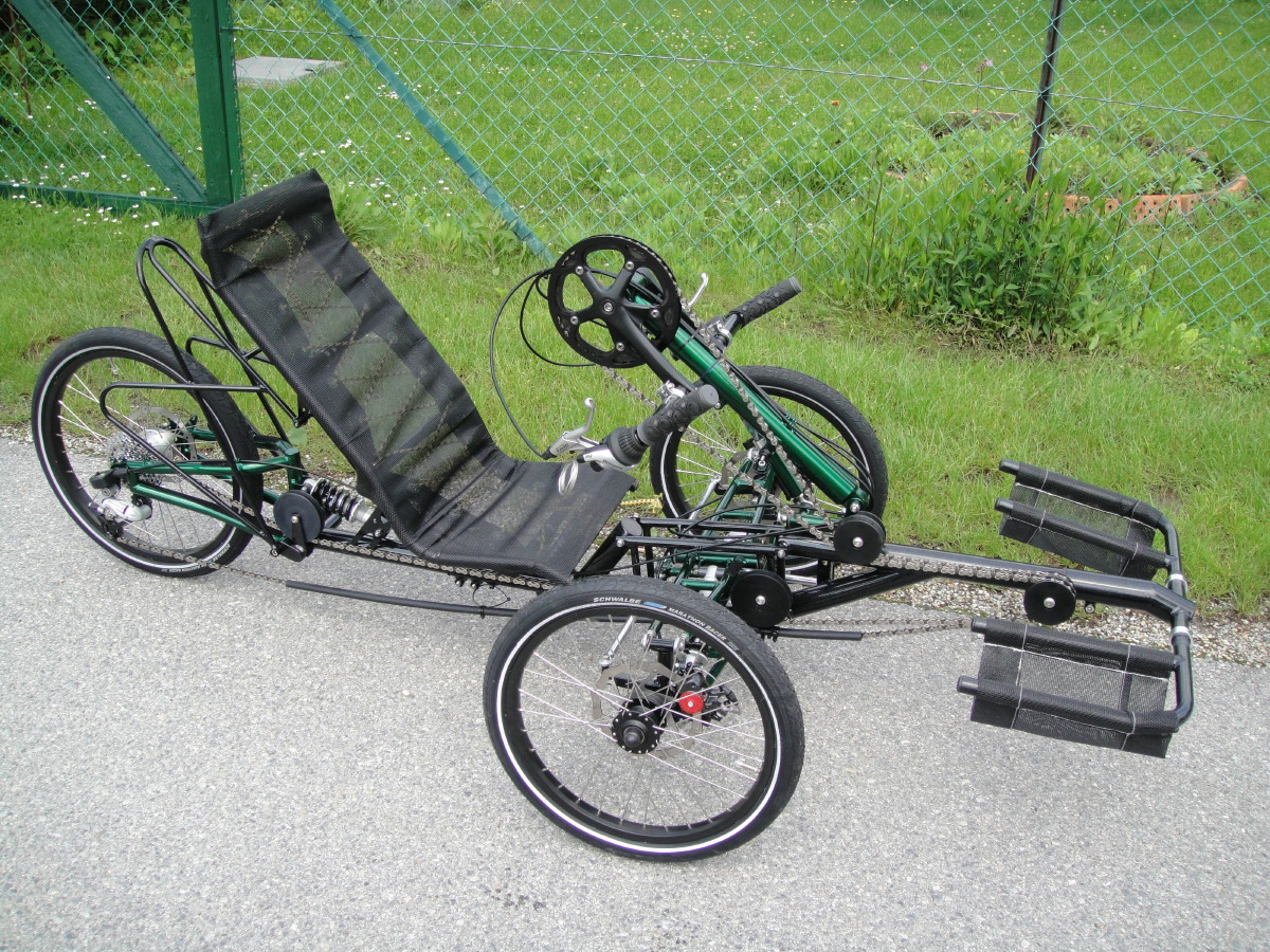 Steintrike Mungo Handbike