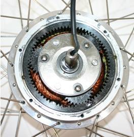 Nabenmotor mit Planetengetriebe