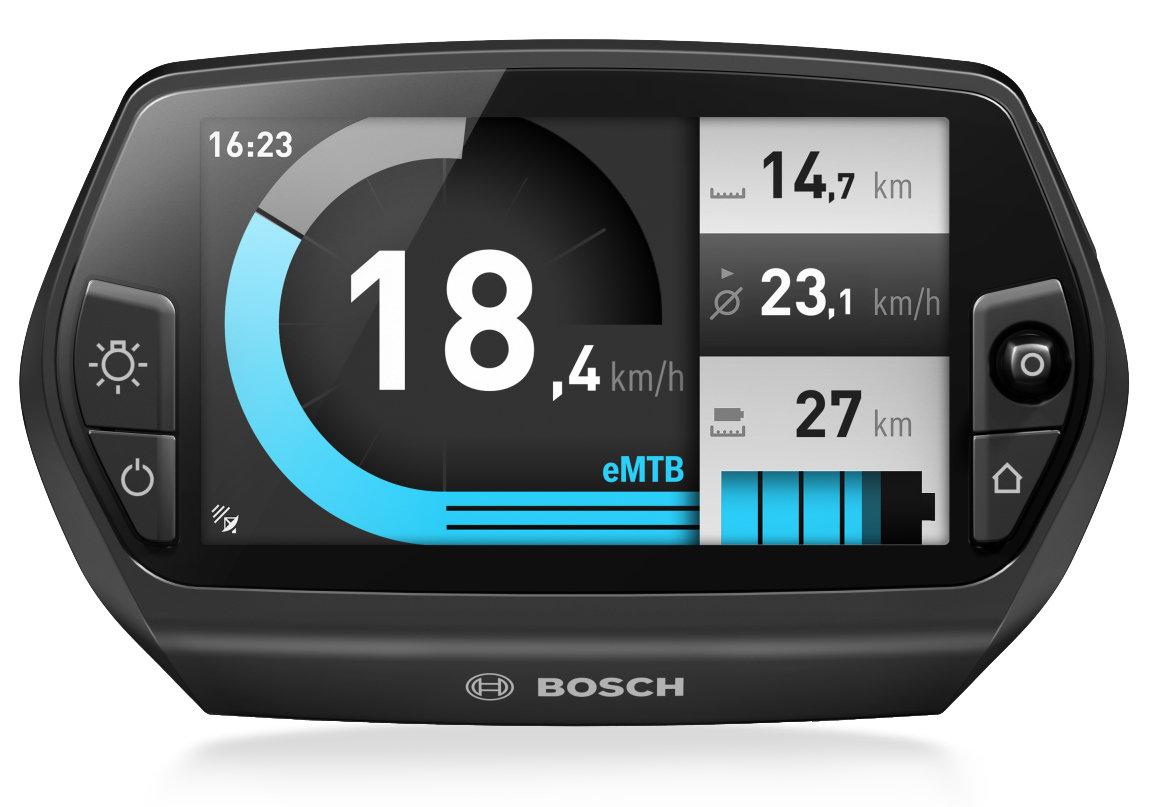 Bosch e-Bike Nyon mit Akku-Info