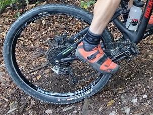 MTB Reifen passt sich an