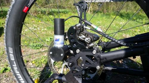200mm ZEE Bremse an Schmicking MTB