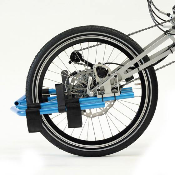 Zwei Bremsen auf eine Scheibe