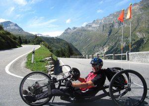Ruedi Weiler auf Passtour