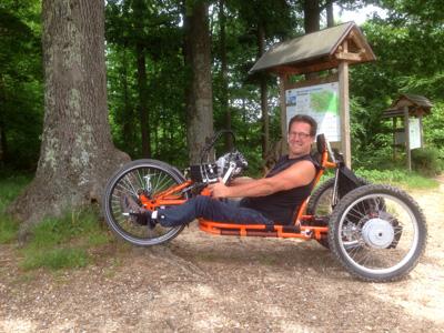Stricker Handbikese Lupo Heckmotor