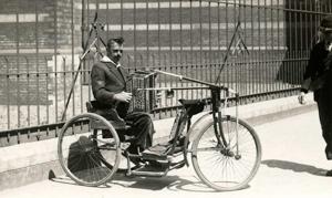 Trike mit senkrechter Hebel, NL 1926
