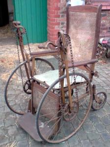 Invalid Carriage, Gendron Wheel Co (Toledo Ohio) 1898