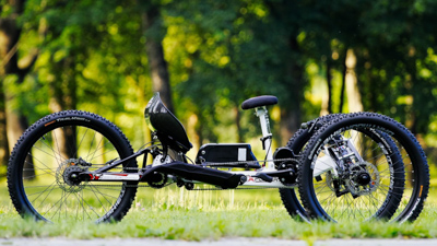 MTB-Handbike Explorer mit Mittelmotor