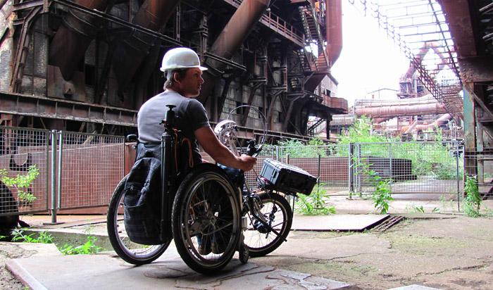 ProActiv Spike Vorspann-Handbike