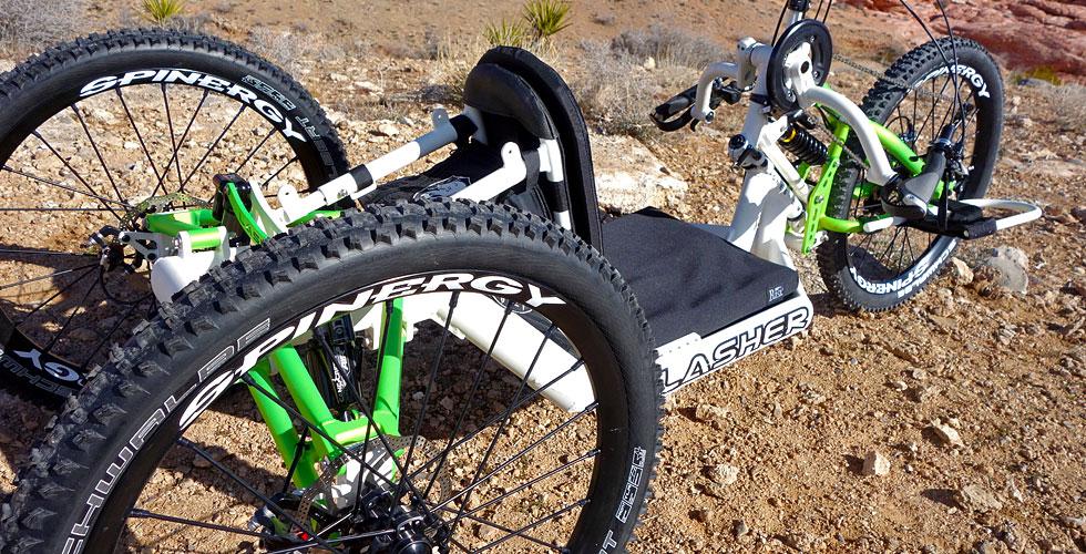 Lasher ATH-FS Offroad-Handbike