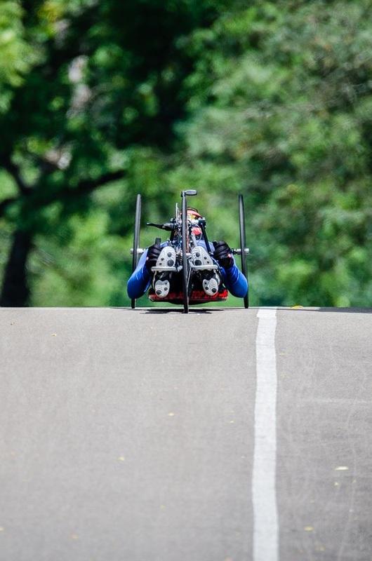 Atila Domos auf Weltrekordfahrt