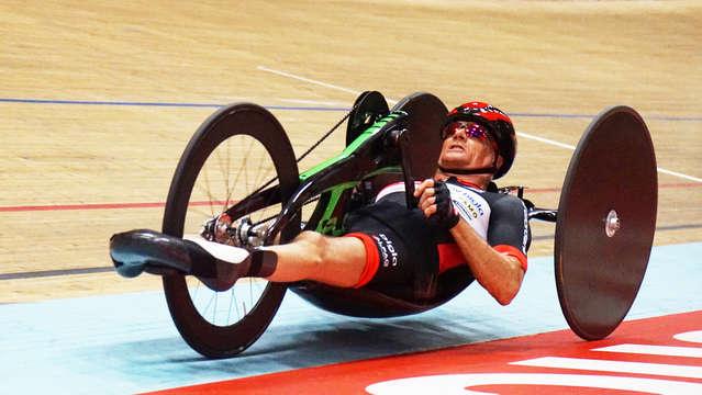 Heinz Frei Handbike Stundenweltrekord