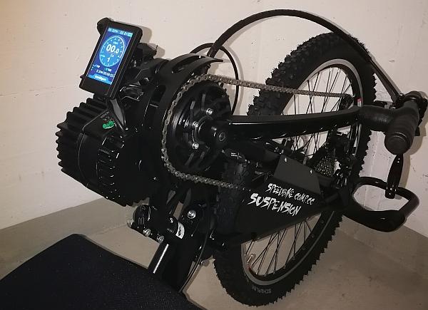 xDreamlite Motor an Praschberger Handbike