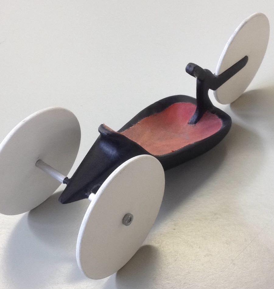 Carbon-Handbike-Studie 2003
