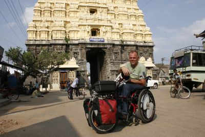 Handbike Tour in Indien